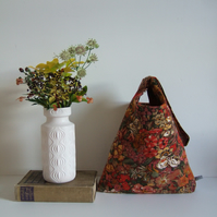 Vintage Liberty fabric shoulder bag