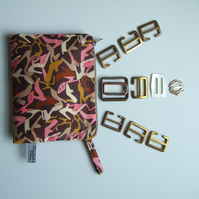 Liberty shoe design. Purse, cosmetics bag or headphones case.