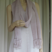 Lightweight Knitted 100% Linen Scarf
