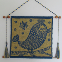 Blue Bird  Tapestry