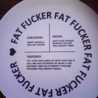 slimming control plate FAT F...er differnt wording