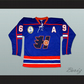 Goon Doug Glatt Halifax Highlanders Hockey Jersey Includes EMHL and A Patches
