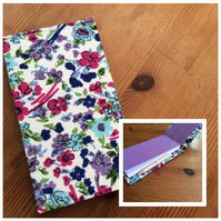 Handmade Jotter Notebook with Pencil