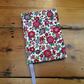Small Handmade Notebook in a Floral Fabric