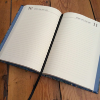 Custom Made Day-to-a-Page A5 Diary
