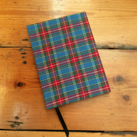 Small HandmadeTartan Notebook