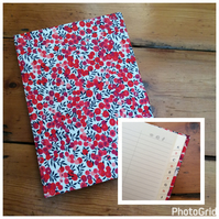 Large Address Book Covered in a Liberty Fabric