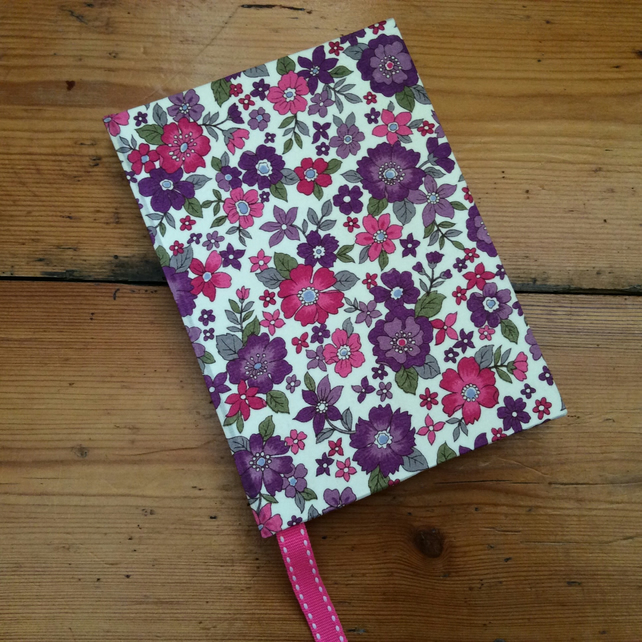 Small Fabrc Covered Handmade Notebook