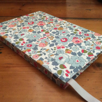 Large Handbound Notebook Covered in a Liberty Fabric