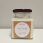Log Fire Soy Candle
