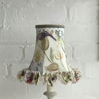 Voyage linen table lampshade