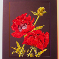 Oriental Poppies Original Artwork (VA 002)