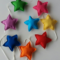 Applique Bunting - Fat stars