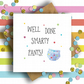 Well Done Smarty Pants Card, Graduation Card