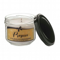 Prosecco cocktail soy wax candle