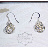 Mobius Chainmaille Earrings, Rose Jewellery, Ladies Earrings, Mothers Day, Gift