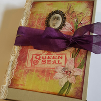 Junk Journal, Writers Journal, Writing Journal, Memory Journal, Scrapbook, OOAK