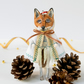 Handmade Father Frost Jack Frost Fox fairytale luxury Christmas tree ornament