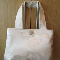 Vintage Sparkle Brocade Bag