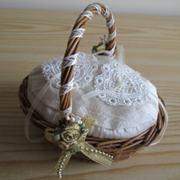 SALE - Mini Ring Basket