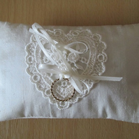 SALE - Scented Mini Ring Cushion