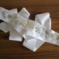 'Flurry' Wedding Dress Sash