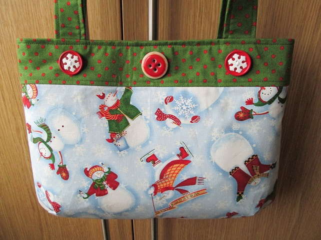 Christmas Handbag - Let It Snow
