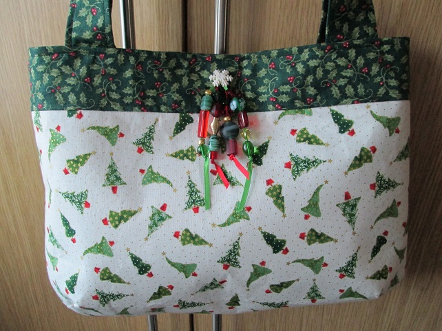Christmas Handbag - Tiny Trees