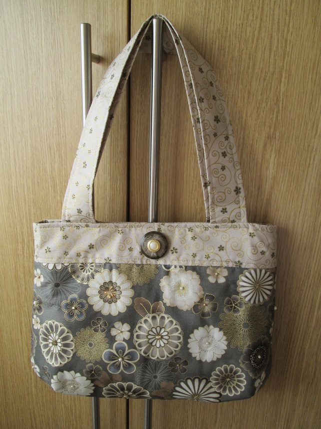 Neutral Bouquet Handbag