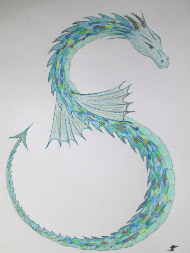 Sea Dragon Drawing