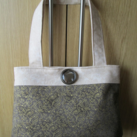 SALE - Coffee & Cream 'Cappuccino' Handbag