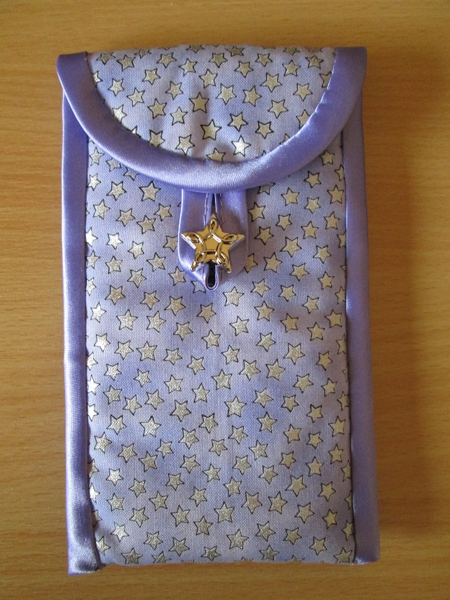 Lilac Stars Glasses or Phone Case