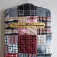 Plaid Hanging Storage Bag