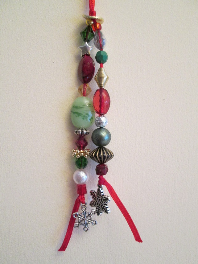 Beaded Tree Tassels - Traditional