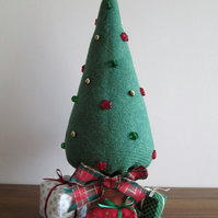 'Harris Tweed' Christmas Tree and Parcel Set 1