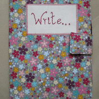 A5 Floral Notebook Cover