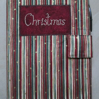SALE - A5 Christmas Reusable Notebook Cover
