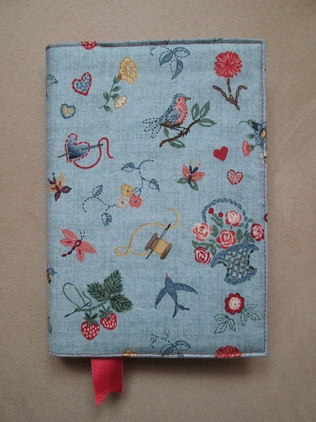 A6 Embroidery Reusable Notebook Cover