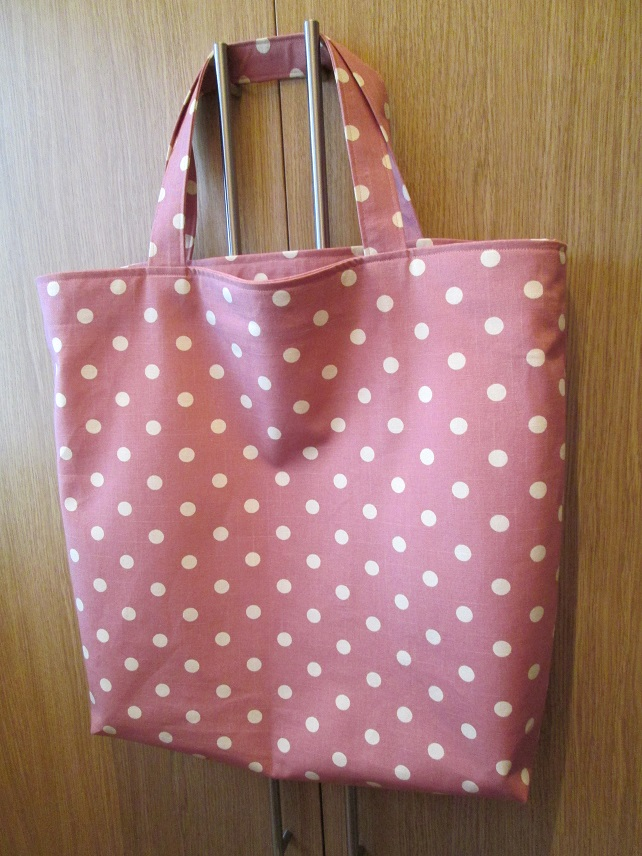 Big Spotty Shopping Bag