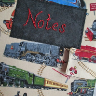 A5 Steam Train Notebook Cover