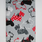 A6 Scottie Dog Reusable Notebook Cover