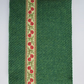 A6 'Harris Tweed' Reusable Notebook Cover - Green with Woven Braid