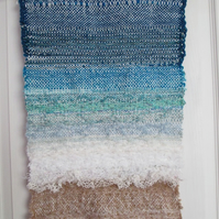 'Sea's Edge' Handwoven Wall Hanging