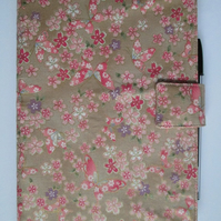A5 Butterflies & Flowers Reusable Notebook Cover