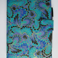 A5 Blue and Purple Reusable Notebook Cover
