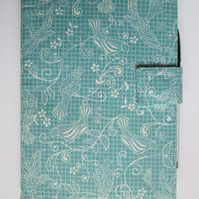 A5 Lace Print Reusable Notebook Cover