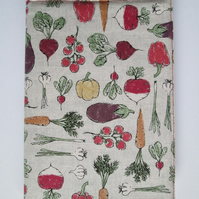 A6 Vegetables Reusable Notebook Cover