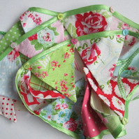 Summery Vintage Style Bunting