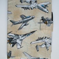 A5 Reusable Notebook Cover - Military Aircraft