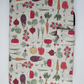 A5 Vegetable Patch Reusable Notebook Cover